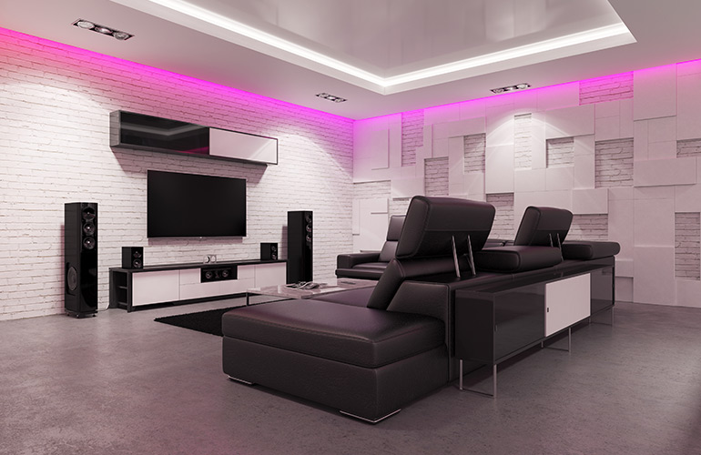 Electrician   Gold Coast   Sparkies Electrical   Home Theatre Cabling